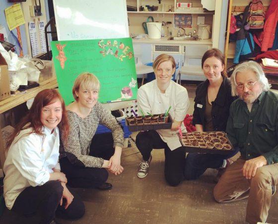 Cultivating Cooks à l'école publique de l'avenue Woodroffe